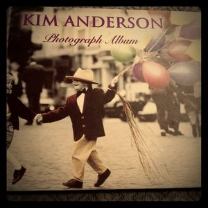 Vintage Kim Anderson photo/scrapbook album